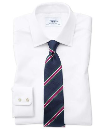 Classic fit Egyptian cotton royal Oxford white shirt