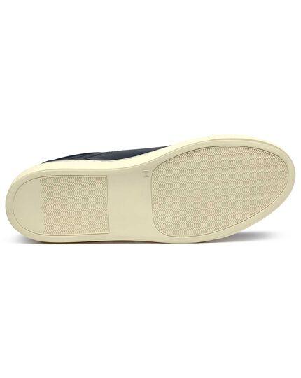 Navy Tutwell plain sneakers