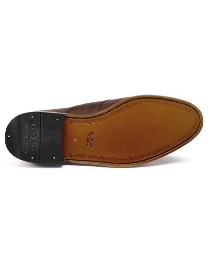 Brown Allet loafers