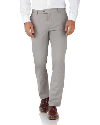 Grey slim fit stretch Chinos