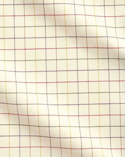 Extra slim fit country check multi shirt