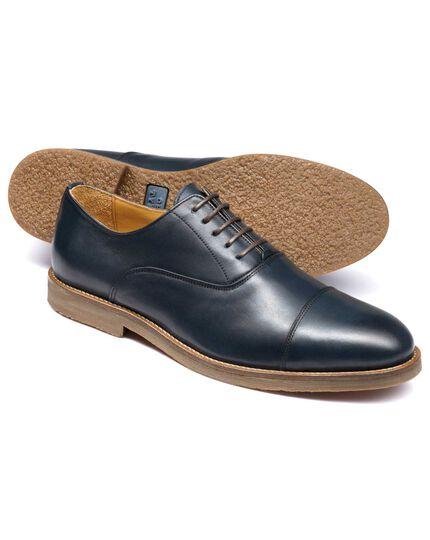 Highbury Oxford-Schuh mit Zehenkappe in Marineblau