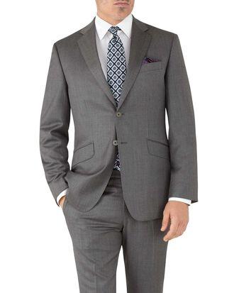 Grey slim fit Italian suit jacket