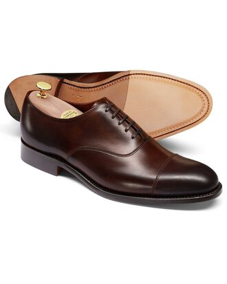 Chaussures Oxford acajou Made in England