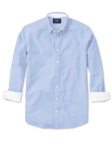 Slim Fit Oxfordhemd in Himmelblau