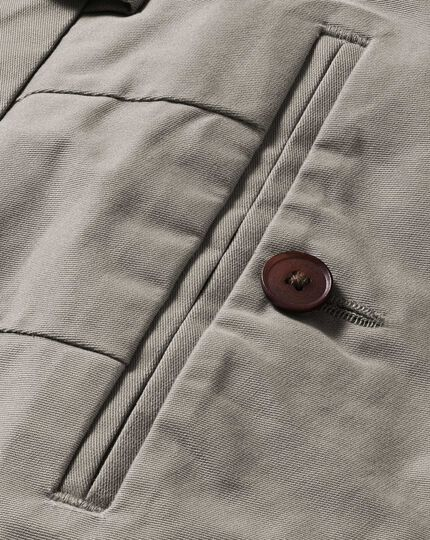 Pantalon chino gris extra slim fit en tissu stretch