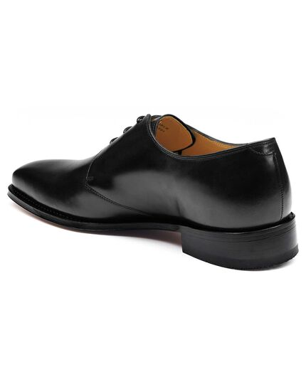 Black Soho Derby shoes