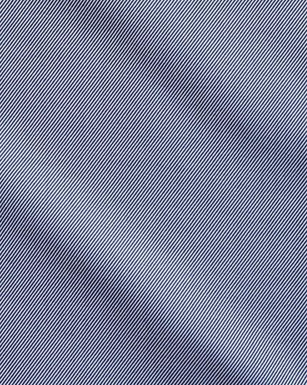 Slim fit Egyptian cotton cavalry twill navy blue shirt