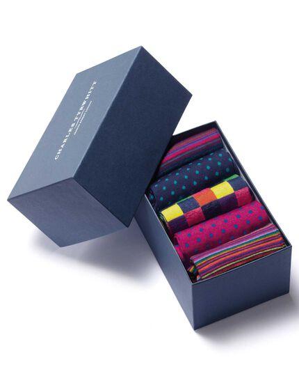 Multi sock gift box