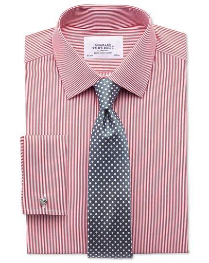 Pewter silk classic Oxford spot tie