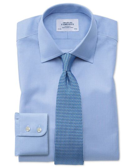 Extra slim fit Oxford sky blue shirt