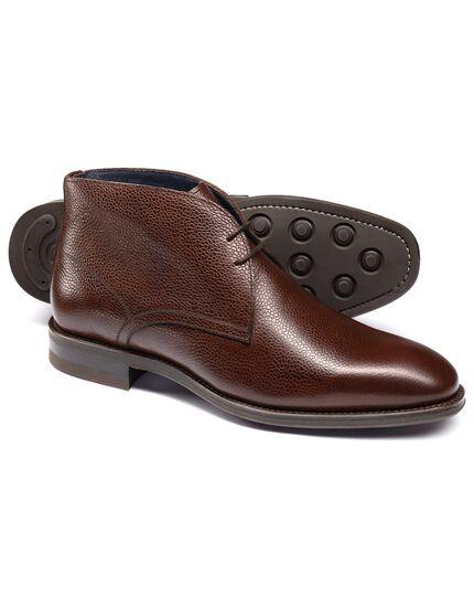 Brown Pembridge chukka boots