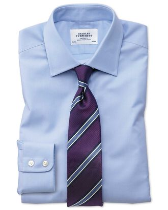 Classic fit Egyptian cotton royal Oxford Sky blue shirt