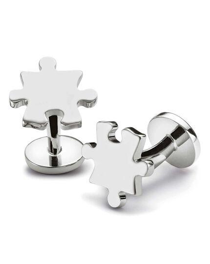 Jigsaw cuff links