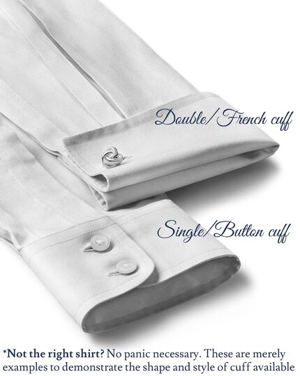 Extra slim fit spread collar Egyptian cotton textured dobby sky blue shirt