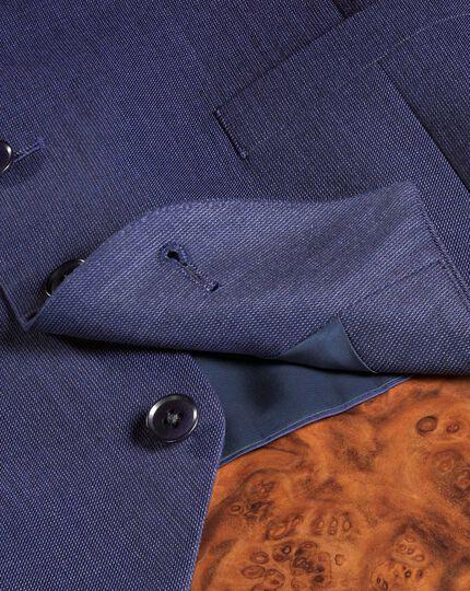 Indigo adjustable fit hairline business suit vest
