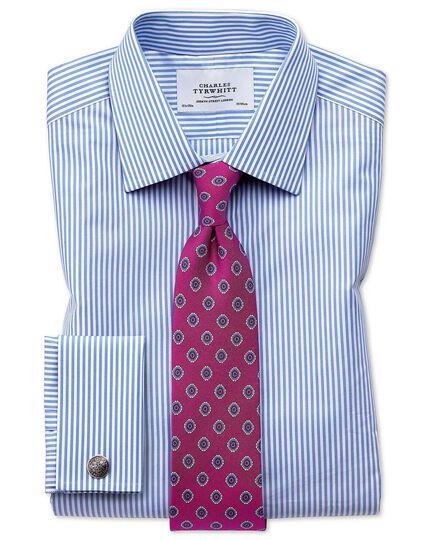 Bright pink silk printed classic tie