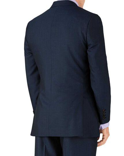 Slim Fit Panama Luxus Anzug Sakko in Blau