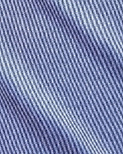 Slim fit cutaway non-iron twill mid blue shirt
