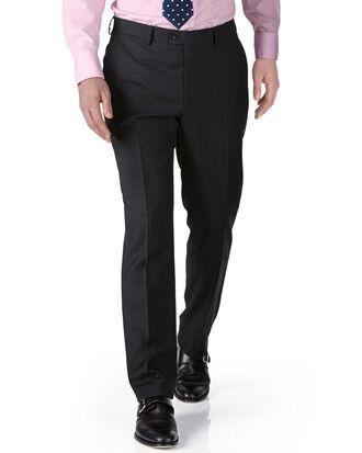 Pantalon de costume business charcoal en twill extra slim fit