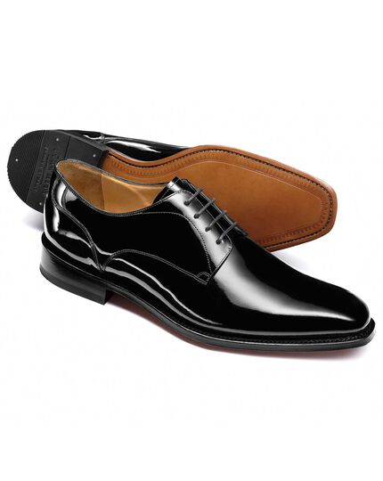 Black Callington Derby shoes