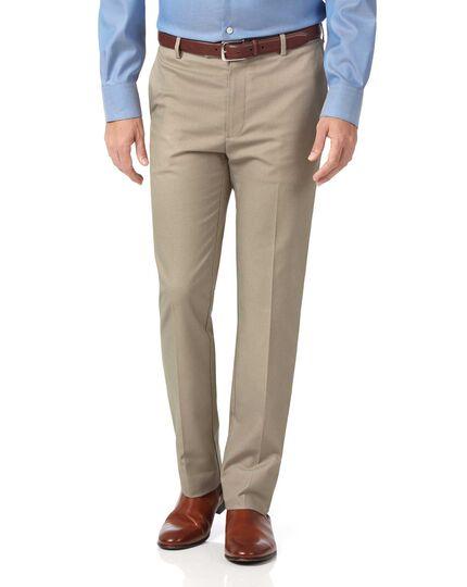 Stone slim fit stretch non-iron pants