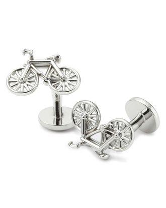 Manschettenknöpfe mit Fahrrad