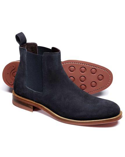Northcott Chelsea Boots in Marineblau