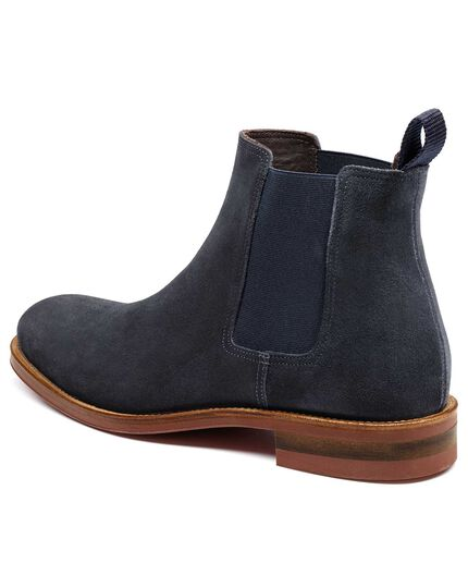 Navy Northcott Chelsea boots
