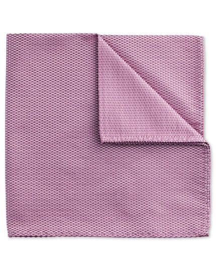 Pochette de costume classique lilas unie