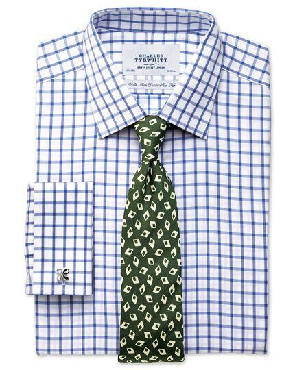 Forest green silk Italian luxury diamond tie