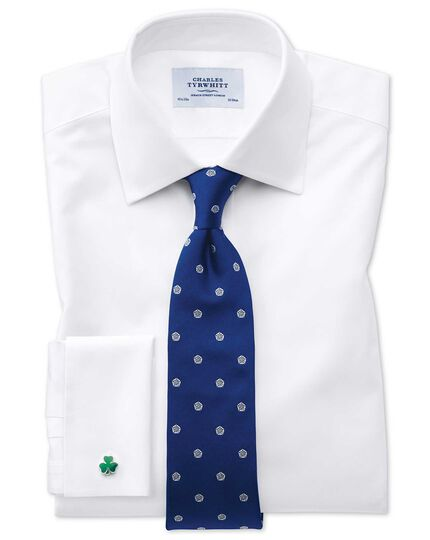 Classic fit Oxford white shirt
