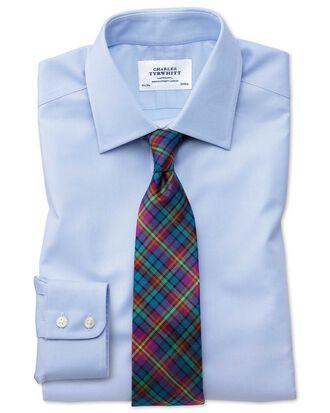Slim Fit Royal Oxfordhemd aus ägyptischer Baumwolle in Himmelblau