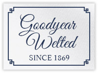 Goodyear welted since 1869