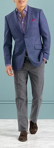 How in blue blazers?