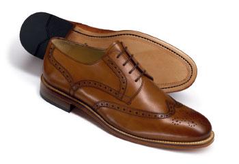The brogue shoe