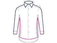 Slim Fit Hemd Abbildung