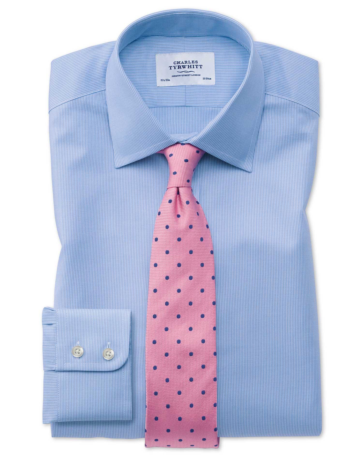 Classic Fit Oxford Sky Blue Shirt Charles Tyrwhitt