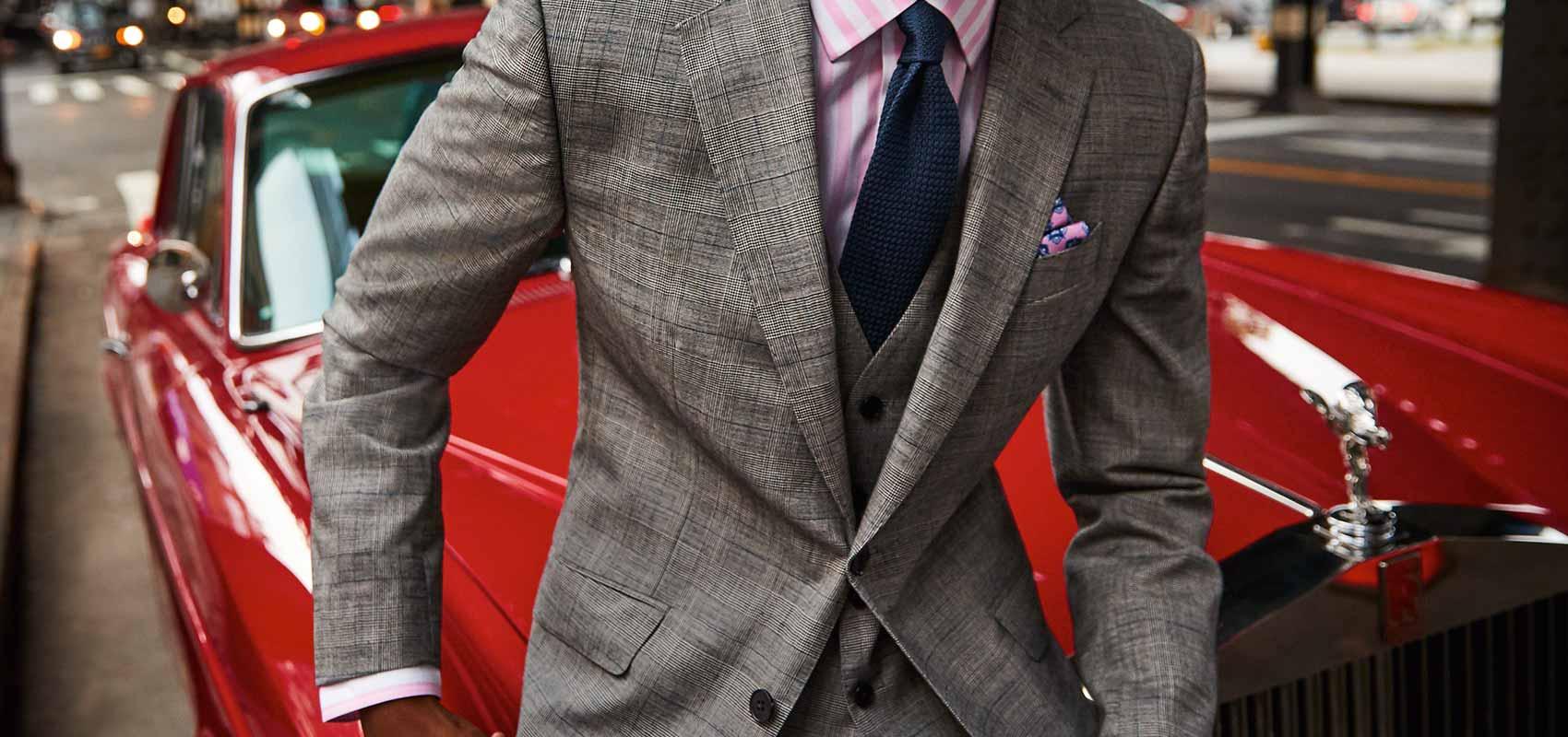 Charles Tyrwhitt suit Gilets