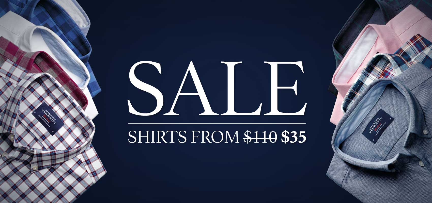 Charles Tyrwhitt Sale Shirts from $35