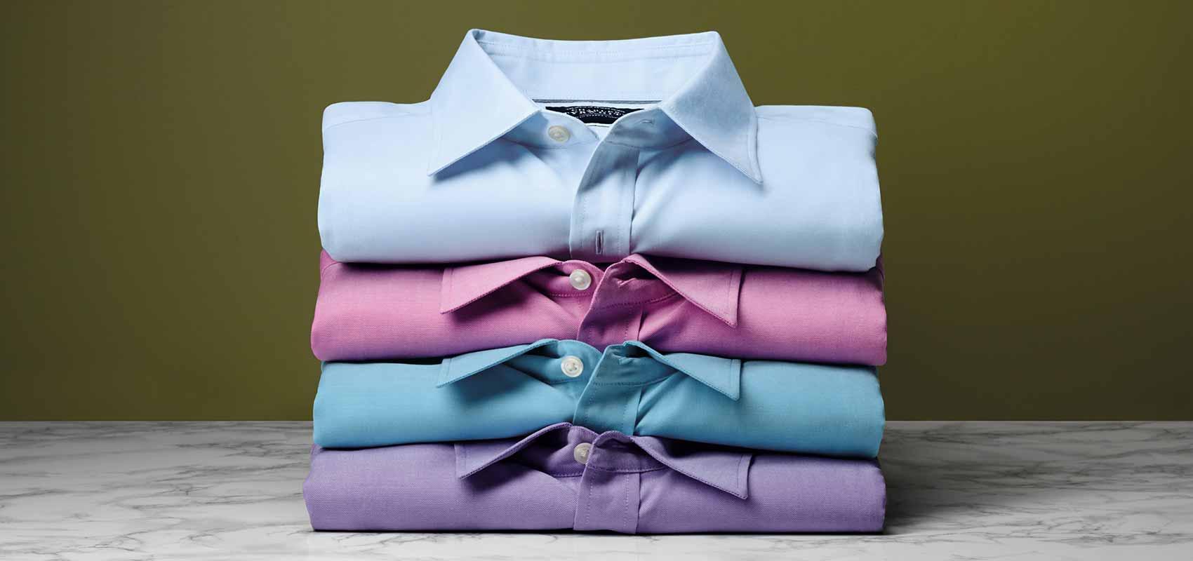 Charles Tyrwhitt Oxford weave shirts