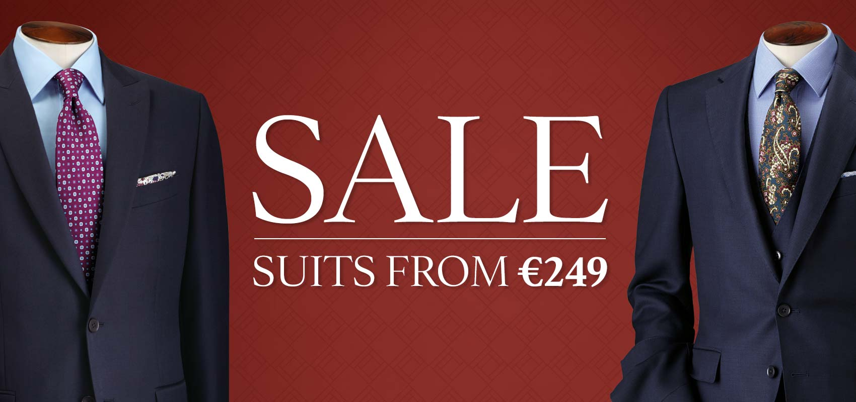 Charles Tyrwhitt men's suite sale