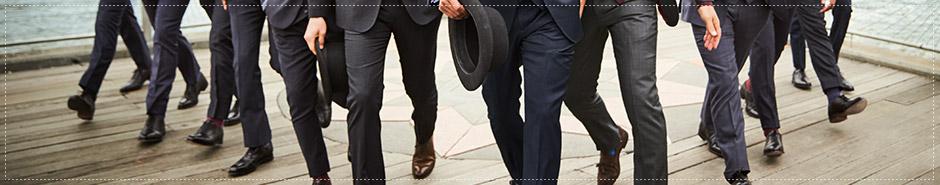 Charles Tyrwhitt men's suit trousers