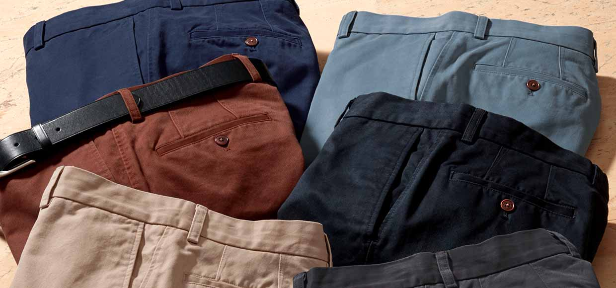 Shop the multi-buy, chinos for €115