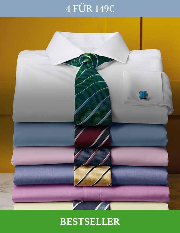 Bügelfreie Twill-Hemden