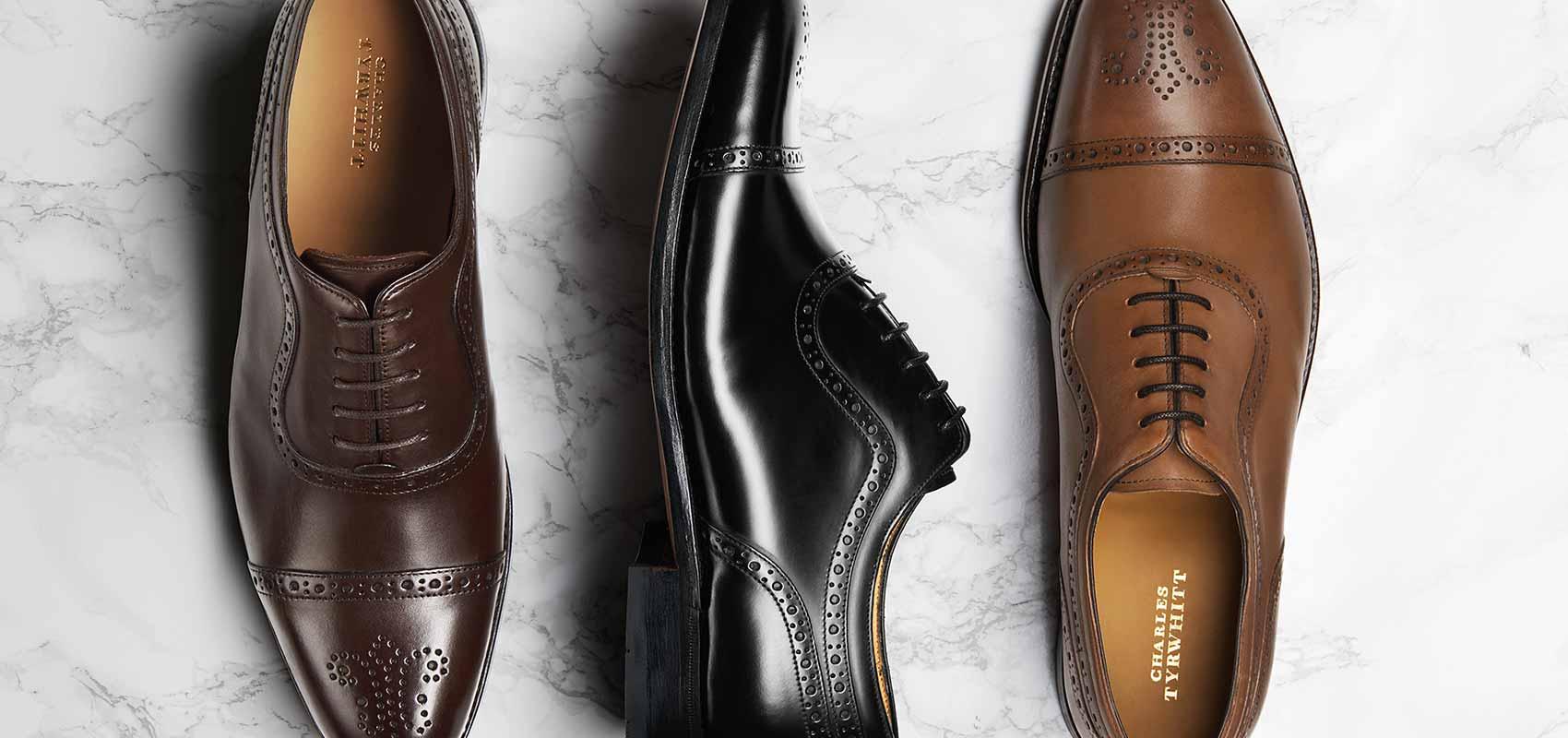 Charles Tyrwhitt Goodyear rahmengenähte Schuhe