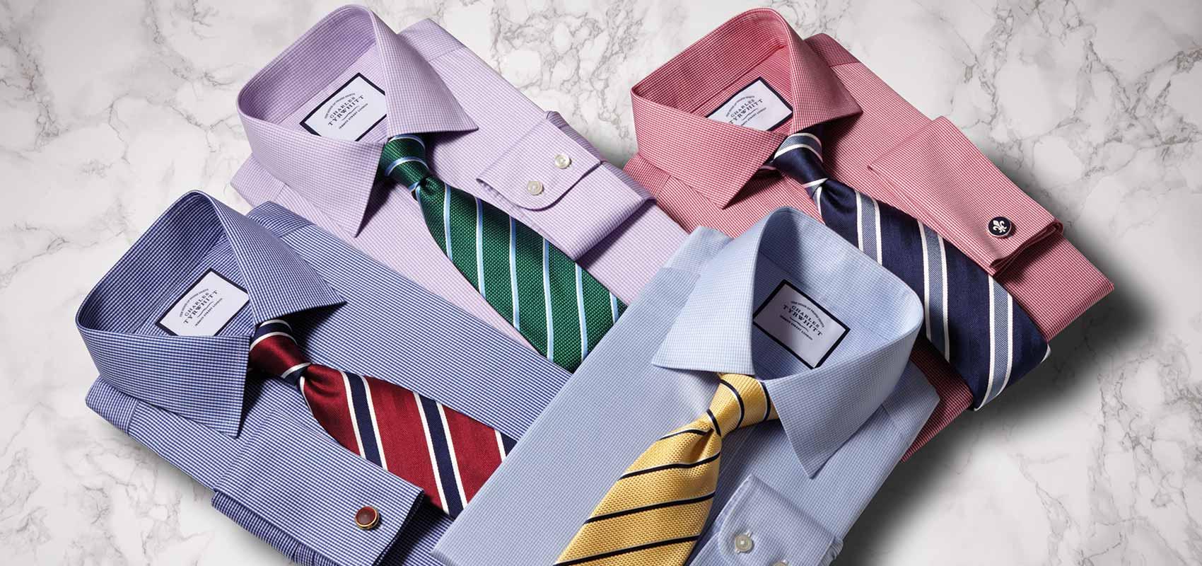 Charles Tyrwhitt non-iron shirts