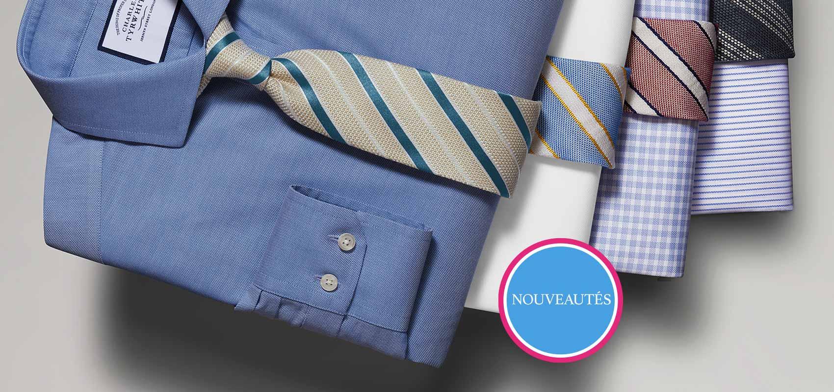 Charles Tyrwhitt cotton stretch oxford shirts