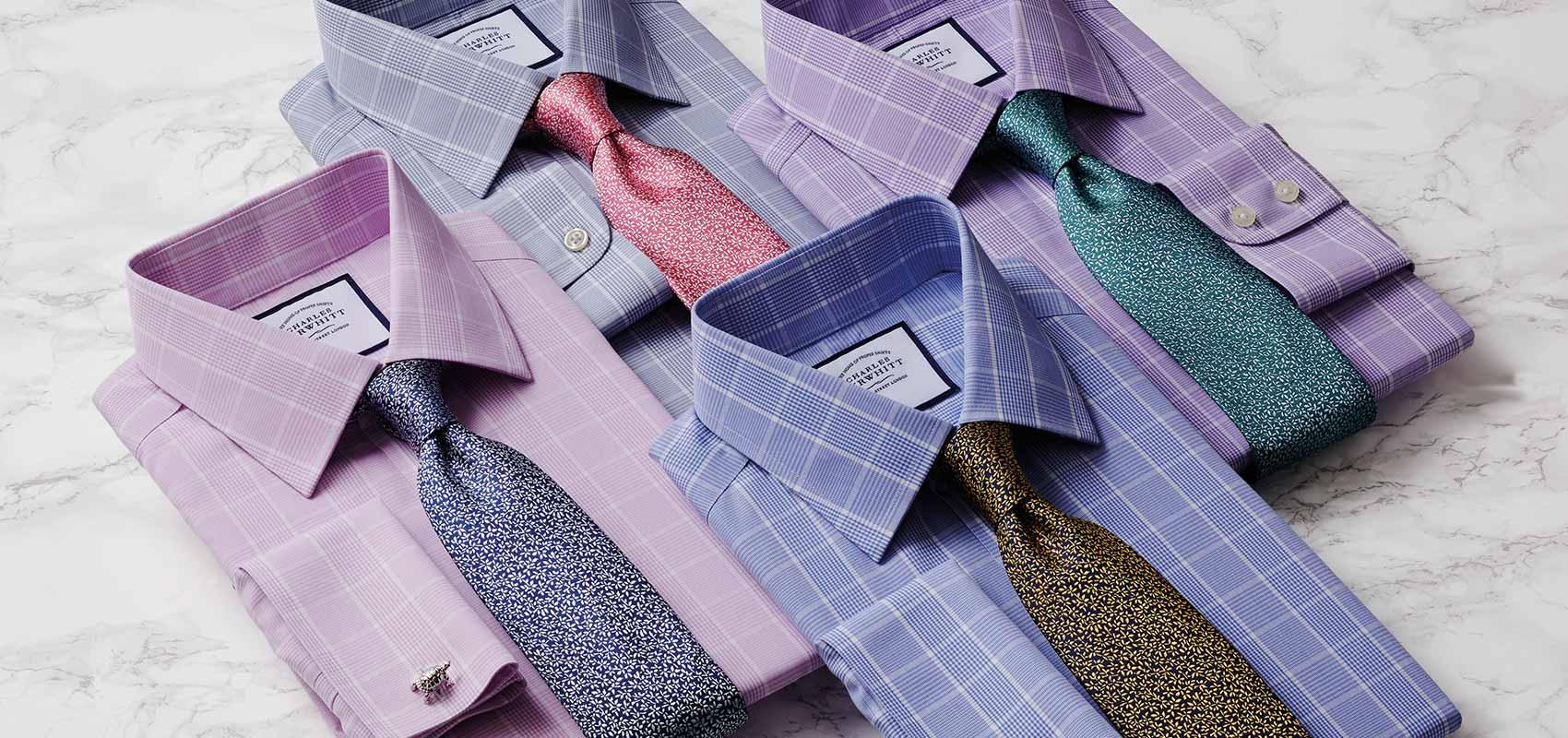 Charles Tyrwhitt Prince of Wales check shirts