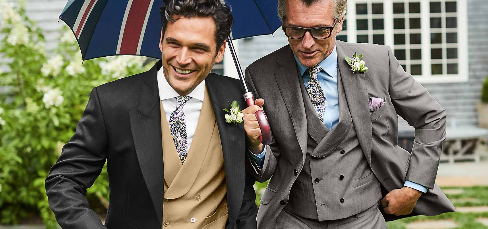 Charles Tyrwhitt three piece suits